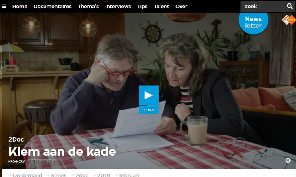 "documentaire ""Klem aan de kade"""