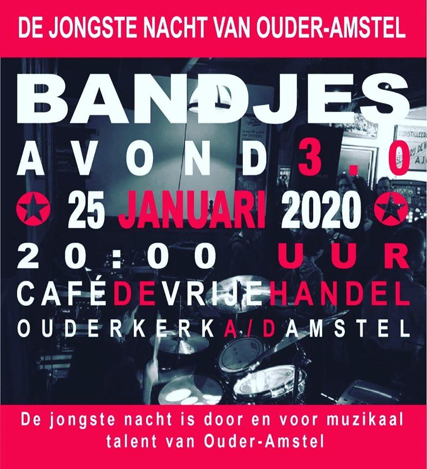 bandjesavond cafe de Vrije Handel